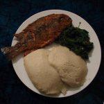 Banku - Ghanian meal