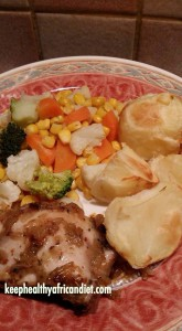 Roast with Veg and Chicken