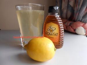 Lemon Honey drink