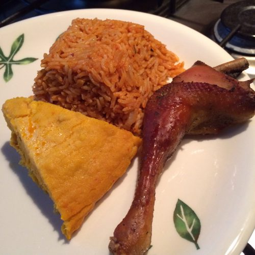 Healthy Jollof Rice