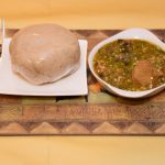 Oat Fufu with Okra Soup