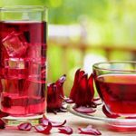 Serving suggestions of hibiscus tea