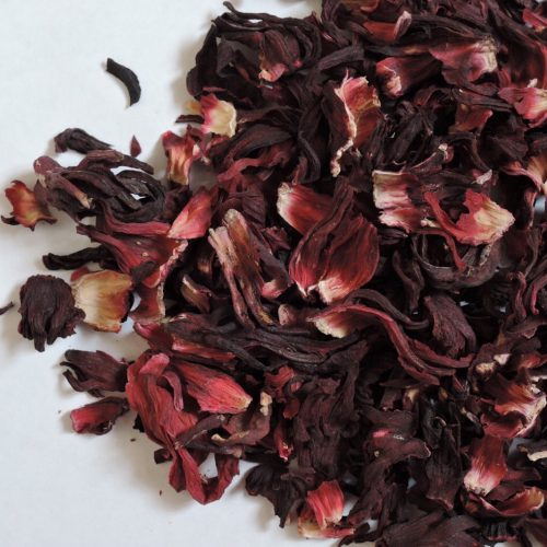 Hibiscus tea leaves