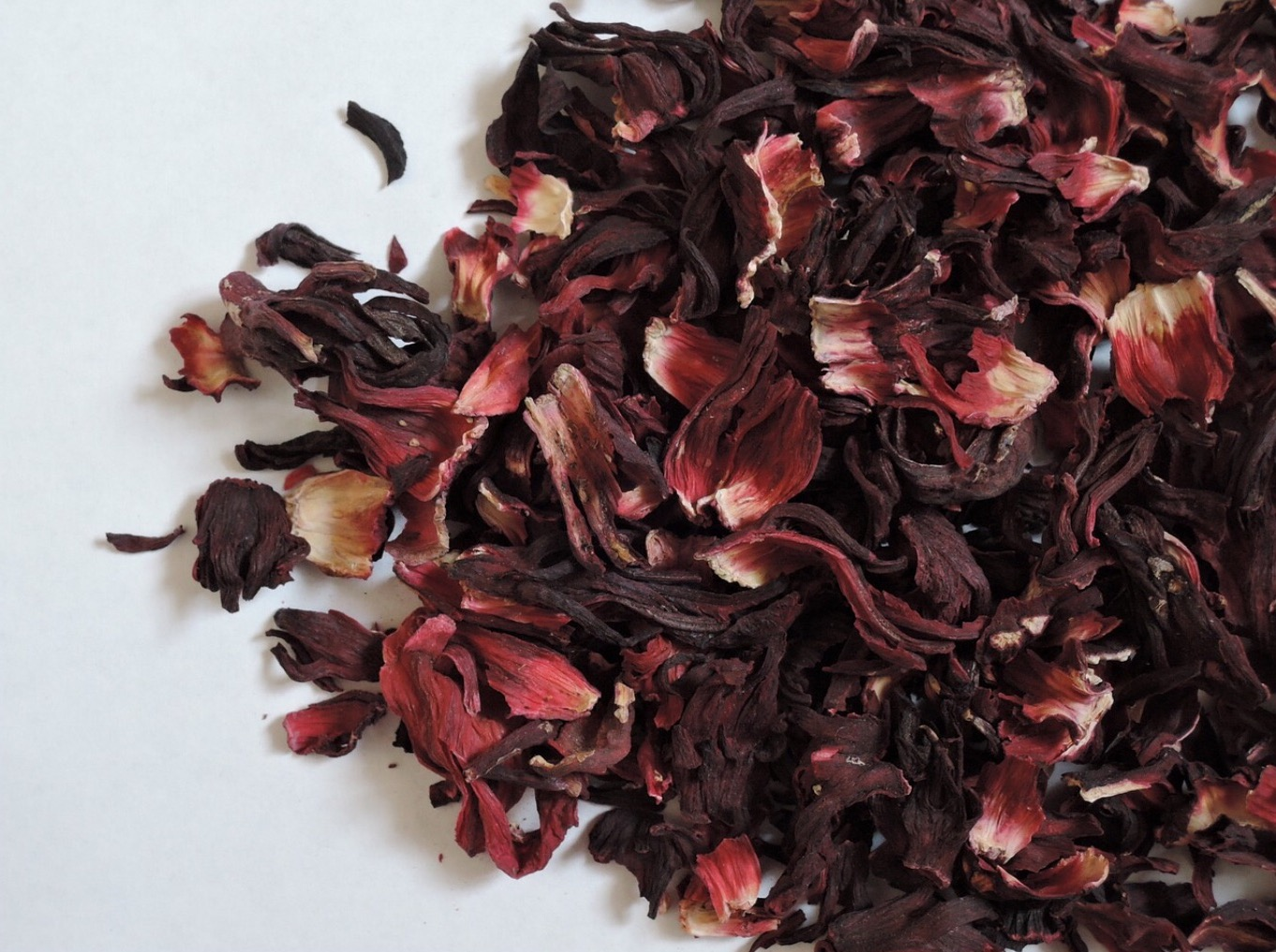 Hibiscus tea leaves