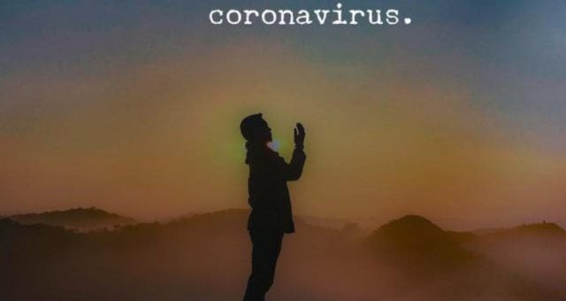 Pray for a cure for corona virus