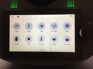 Thermomix touch screen